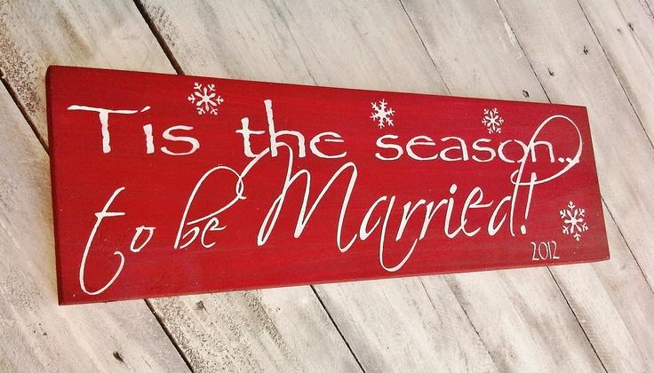 http://www.etsy.com/listing/112450757/christmas-wedding-decor-tis-the-season