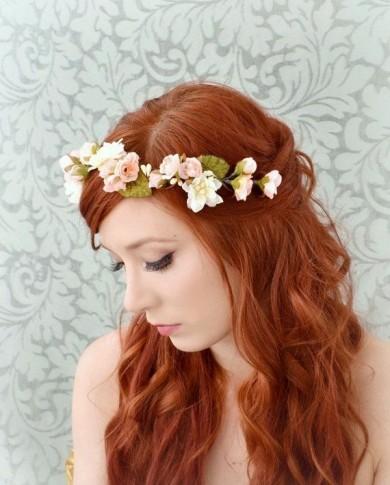 http://www.etsy.com/listing/177662066/spring-flower-crown-pink-and-ivory?utm_source=Pinterest&utm_medium=PageTools&utm_campaign=Share