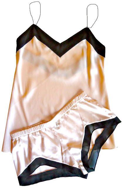 Image: Brulee Boudoir Cami & Short Set. www.prettylittleunderthings.com