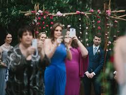 Camera Heavy wedding