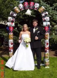 tacky wedding decorations
