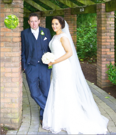 Gerard, son of Margaret and Seamus Meehan, weds Una, daughter of Mary and Martin Devlin, on June 18, 2016 - the same date as the groom's 30th birthday.