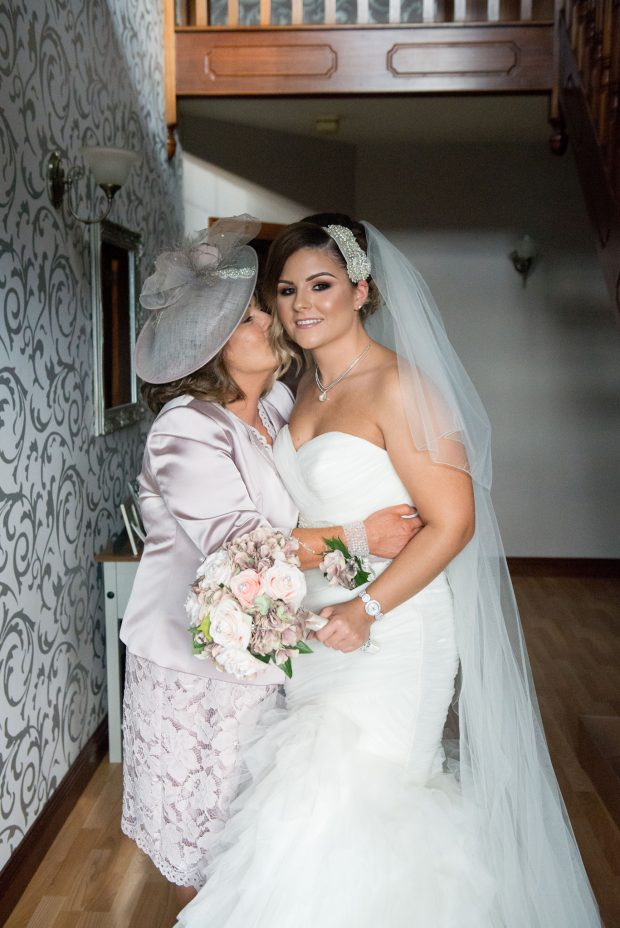 The new Mrs McCullagh and her beloved mother, Josephine McManus