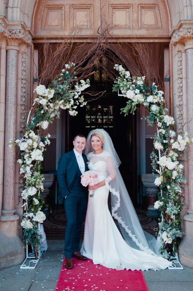 Martin Devine, son of Kay and the late Michael Devine, wed Chantelle, daughter of Angela and Noel McAleer on March 25, 2017.