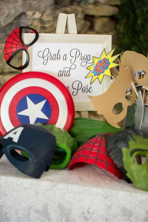 superhero inspired wedding